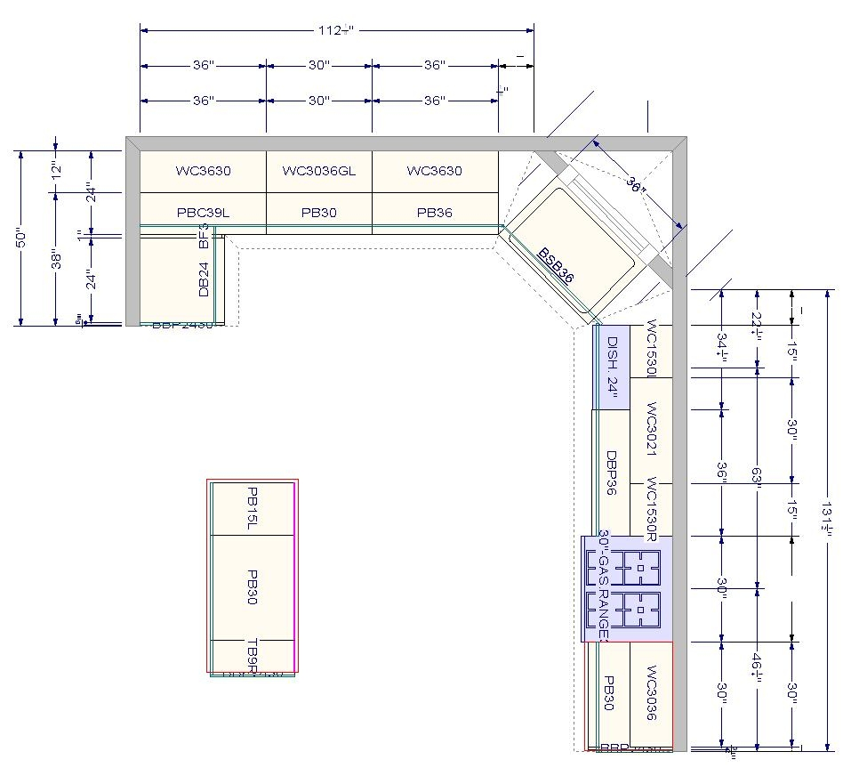 Kitchen Cabinet Layout Plans New Image House Plans 2020