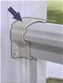 Aluminum Railing Post Brackets
