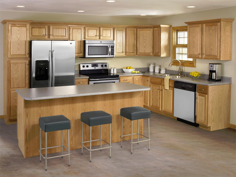 Kitchen Cabinets Photo Gallery :: Accent Building Products