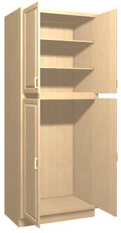 Magnificent Summerfield 1 Maple Kitchen Tall Cabinets Stain Finish Download Free Architecture Designs Ferenbritishbridgeorg