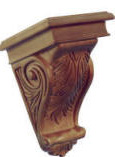 acanthus corbel small