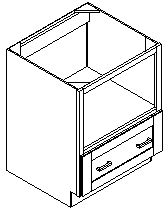 Details Of Microwave Base Cabinet