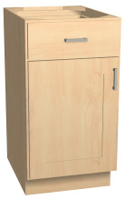 single door base cabinet