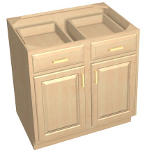Base Cabinets :: Fairmont Thermofoil Collection :: Accent Building ...