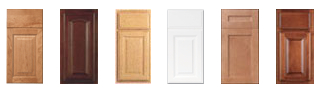 sample cabinet doors