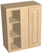 "30"" tall blind corner wall cabinet"