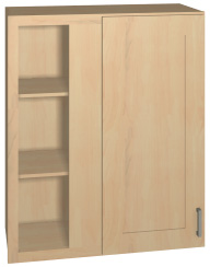 "36"" high blind corner wall cabinet"