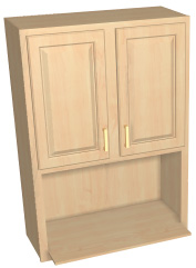 Wall Cabinets Atlanta 1 Oak Collection Accent Building Products