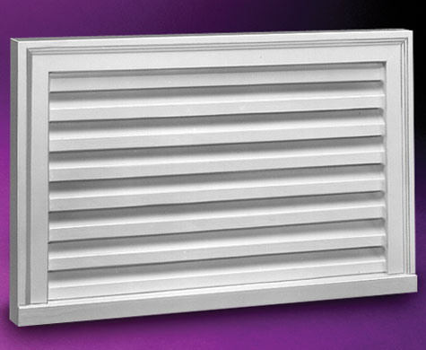 Fypon Horizonal Louvers Accent Building Products