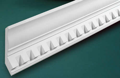 Fypon dentil moldings accent building products for Fypon molded millwork