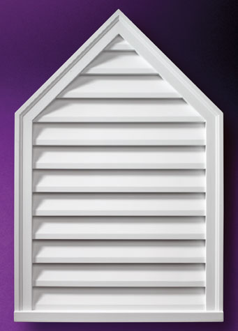 Peaked Decorative Louvers