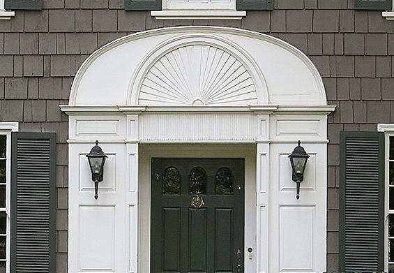 Nothing Can Make A Statement And Enhance Architectural Style Like Window  And Door Trim. A Sunburst Pediment Is Another Way Add Detail And Help  Transform ...