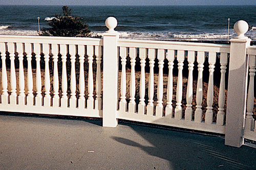 Fypon photo gallery accent building products for Fypon balustrade