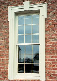 Fypon Window Surround And Keystone