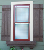 Fypon Southwest Collection Shutters Beams Corbels