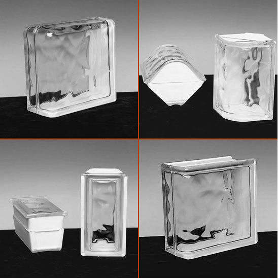 "specialty glass blocks - 4"" Thick"