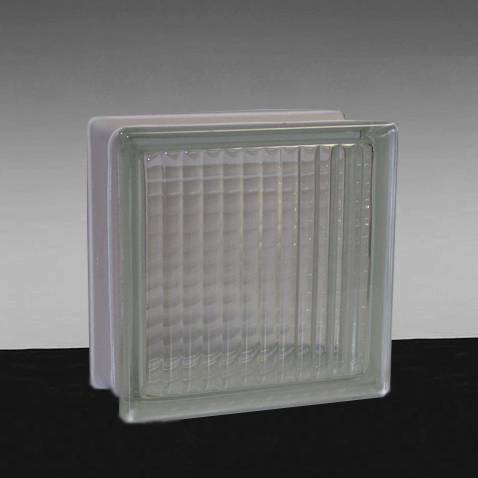 4 thick glass blocks premier series accent building for Glass block r value