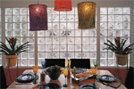 Decorative Glass Block Wall