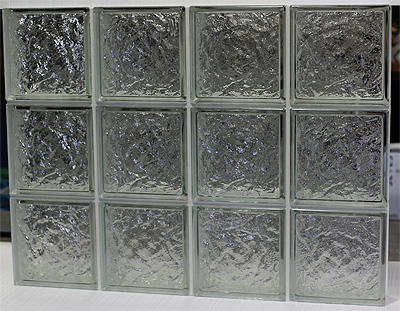 glass block panel
