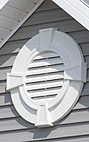 Vinyl Gable Vent by Builders Edge, Mid America