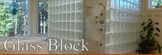 Glass block can be used for windows, walls, showers, panels, and other applications.