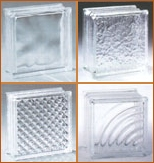 individual glass blocks by pittsburgh corning