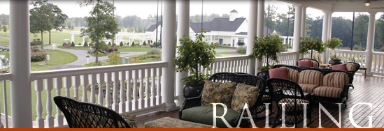 Fairway S Vinyl Railing System Is A Bracketed Making It Easy For Homeowners To Install