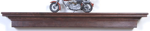 Harrington Mantel Shelf in MDF