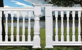Legends Specialty Vinyl Balustrade