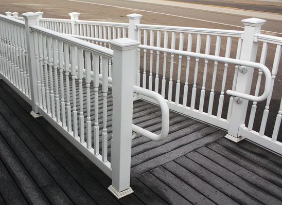 Vinyl Secondary Handrail System Secondary Railing