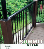 Aluminum Metal Porch Railing