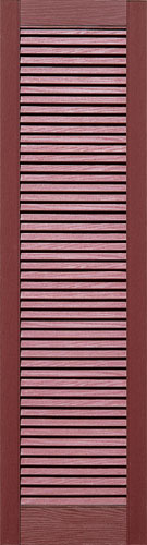 Straight Top All Louvered Shutters