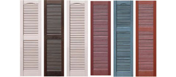 Vinyl Shutters, Vinyl Exterior Shutters, Window Shutters :: Accent ...