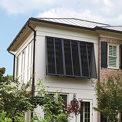 Example High End Composite Shutters with Window