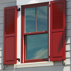 Combination shutters