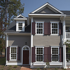 Example High End Shutters with Window