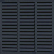 Architectural Louvered Shutter
