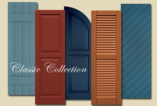 Composite Shutters Atlantic Classic Collection Exterior Composite Shutters Accent Building