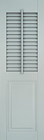 Architectural Shutter with Faux Tilt Rod