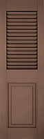 Architectural Shutter Combination Louvered / Panel