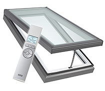 Electic Venting Curb Mounted Skylight - Velux