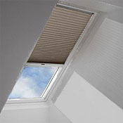 Velux skylight shades and blinds accent building products for Velux skylight remote control manual