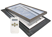 VELUX Self-Flashed Electric Venting Skylight