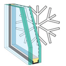 snowload glass skylight