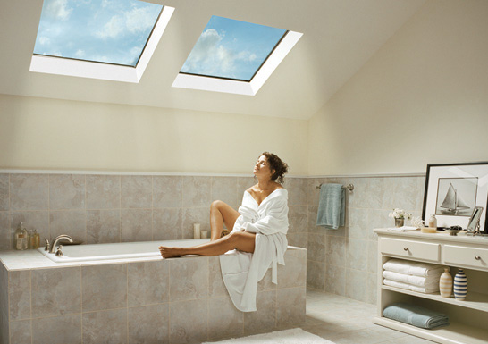 residential Skylights For Homes - Bathroom