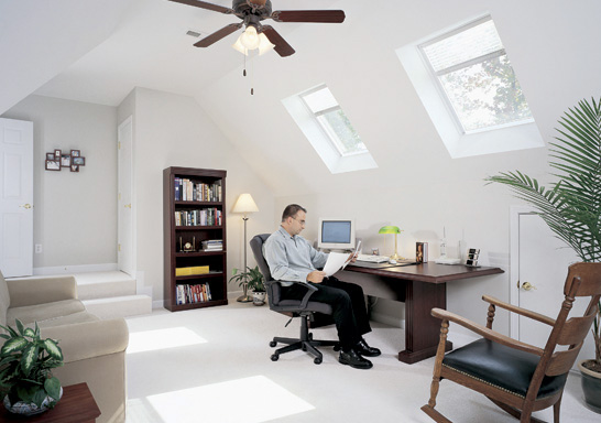 residential Skylights For Homes - Home Office