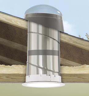 Velux Flexible Sun Tunnel Skylights Sun Tubes Accent