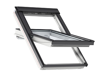 center pivot roof window