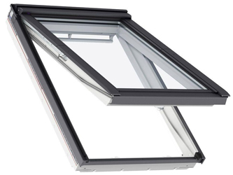 top hinged roof window